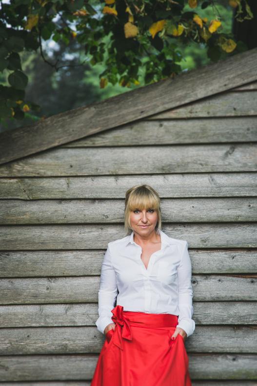 Portraitfoto Portraitbild Portrait Frau Jersbeker Park Fotografin Maya Meiners photographie Jersbek Hamburg